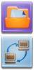 aurbox intranet filebox icons